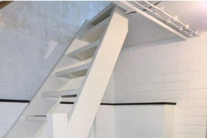 Vlizotrap vervangen door vaste trap sutmuller for Houten vaste trap